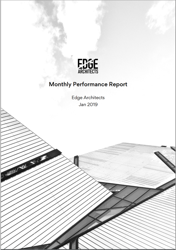 Edge Architects Monthly Performance Report