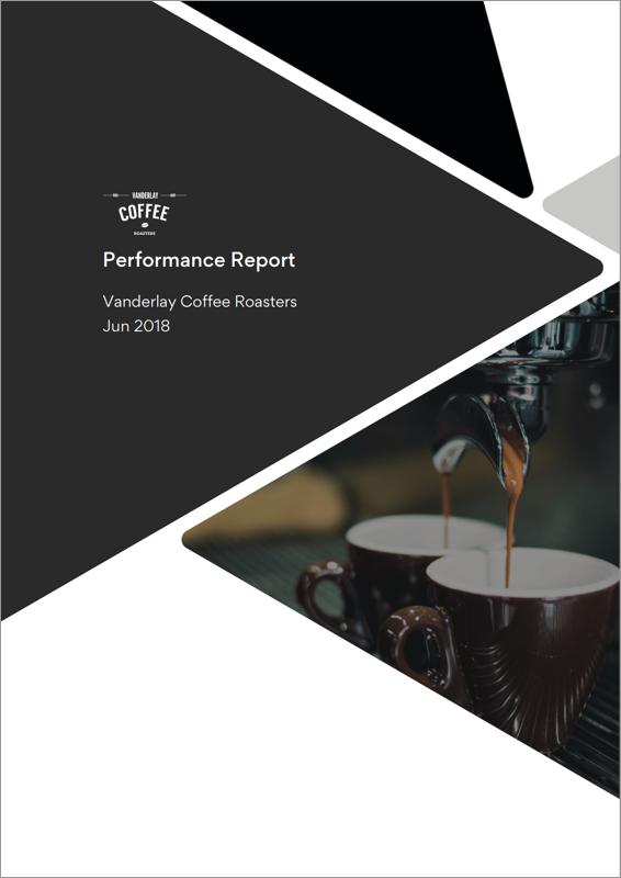 Vanderlay Coffee Roasters Monthly Performance Report