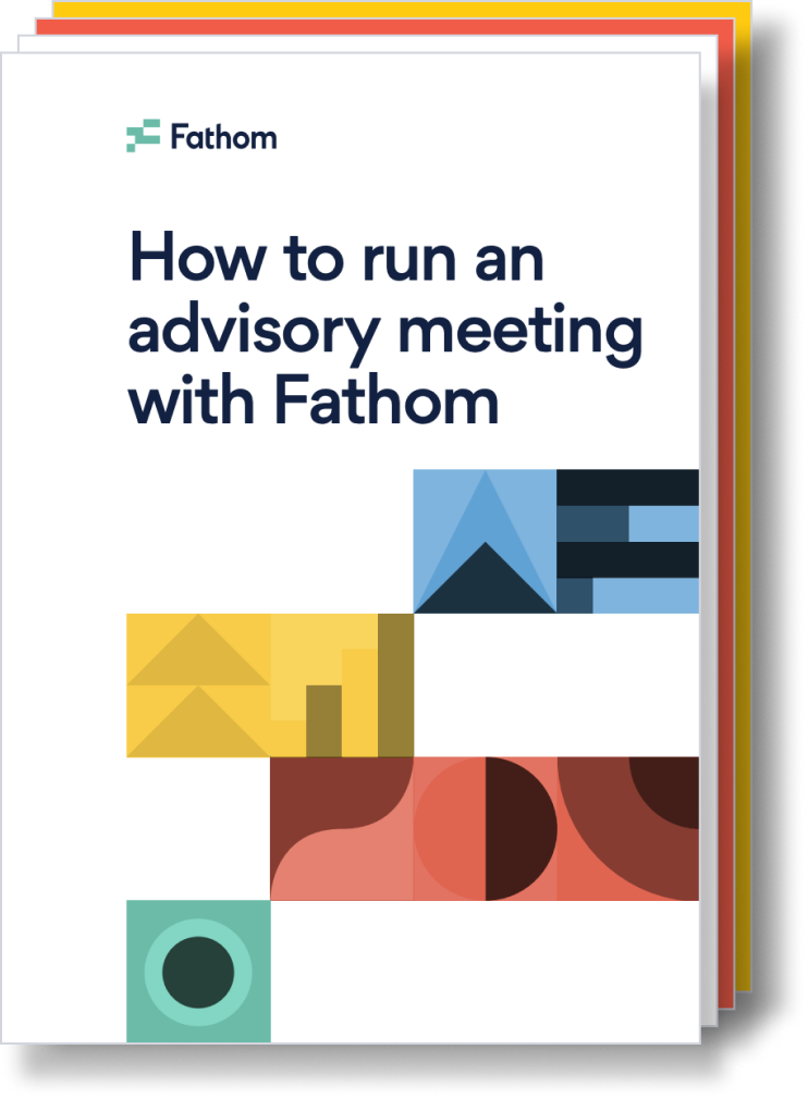How to run an advisory meeting with Fathom (1)